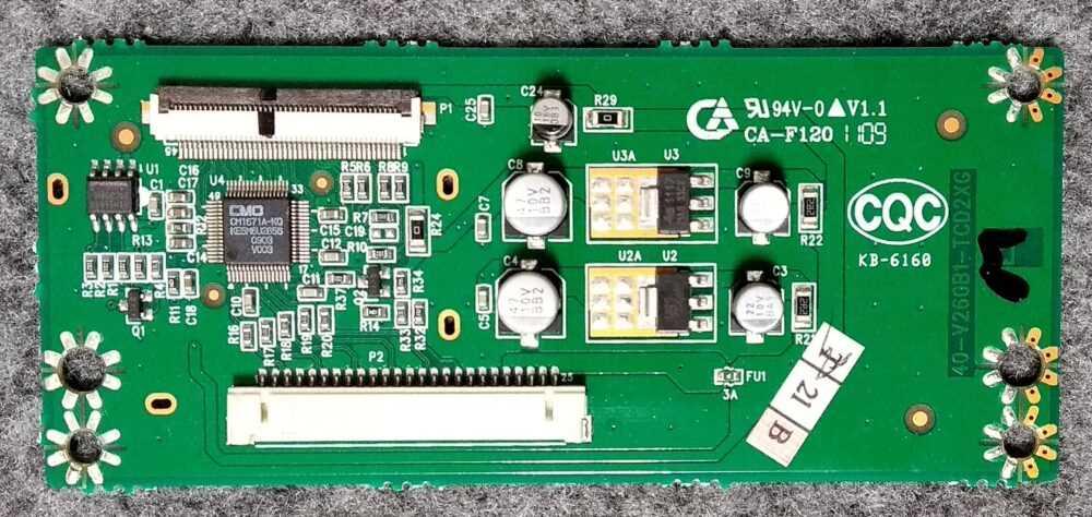 T-con Thomson 26E92NH22 - 40-V260B1-TCD2XG - Pannello V260B1-LN1 Rev C1 TV Modules