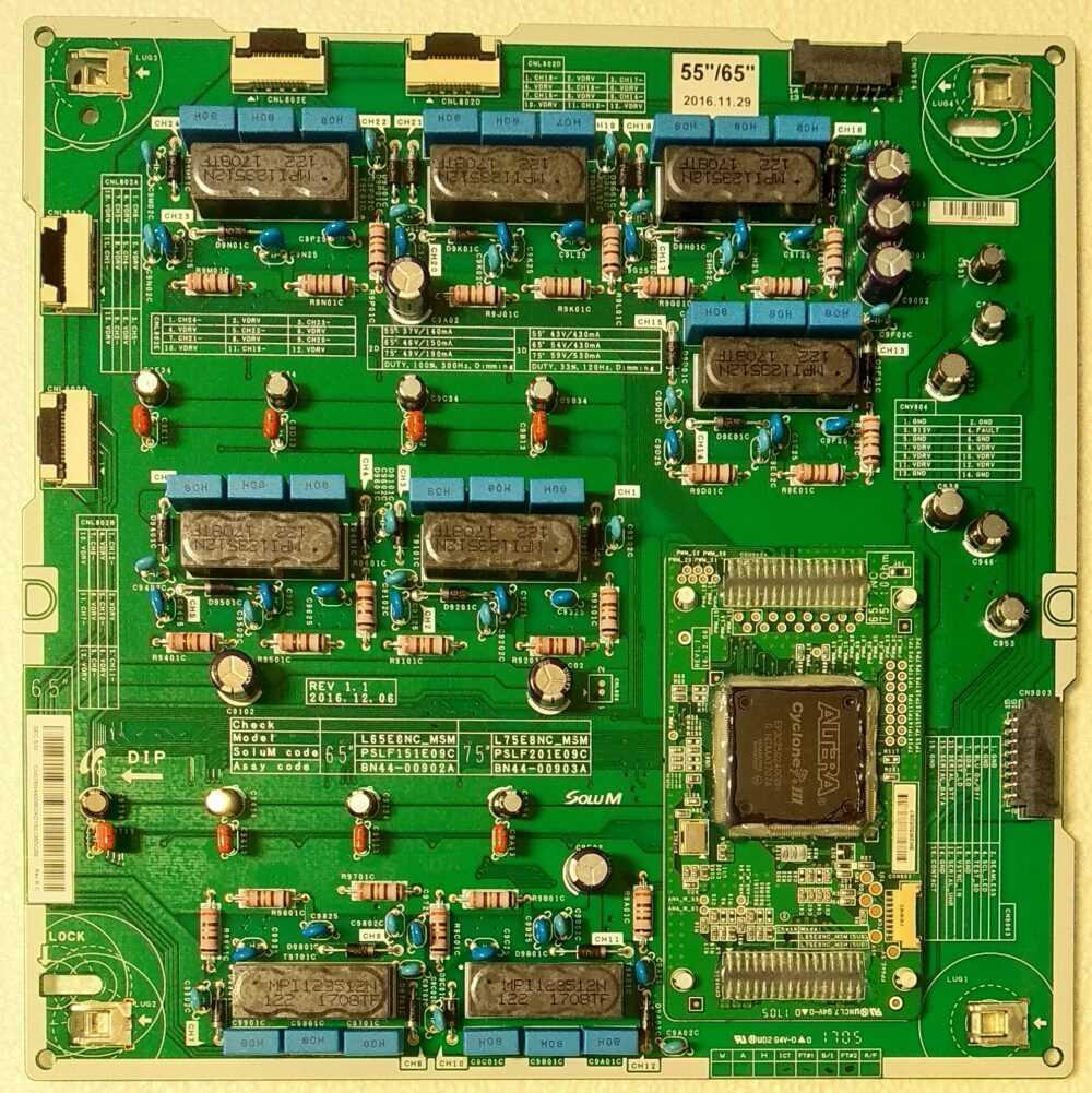 BN44-00902A - Inverter Samsung QE65Q8CAMTTXZT - Pannello CY-XM065FLLV1H TV Modules