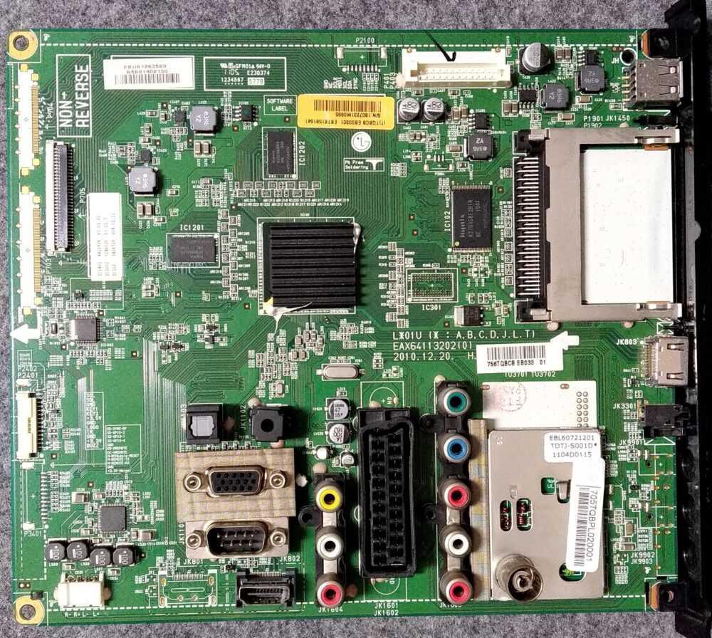 EAX64113202 ( 0 ) - EBT61581641 - Main LG 26LK330-ZB.CEUDLH - PannelloT260XW04 V.9 TV Modules