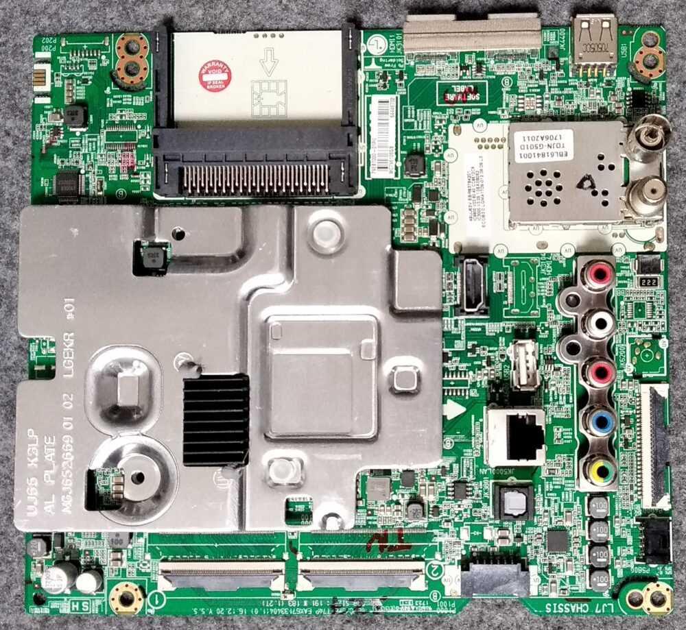 Ebr83784201 Eax67133404 (1.0) Main Lg 49uj634v Zd.beuyljp Pannello Hc490dgg Sltl3 A19x