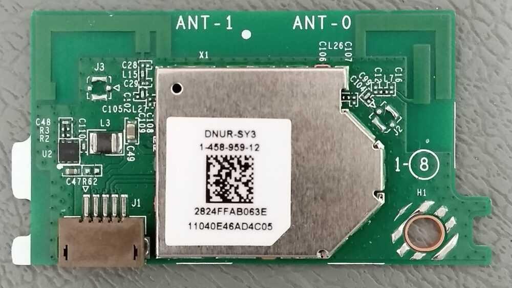 1 458 959 12 Modulo Lan Wireless Sony Kdl 40w665