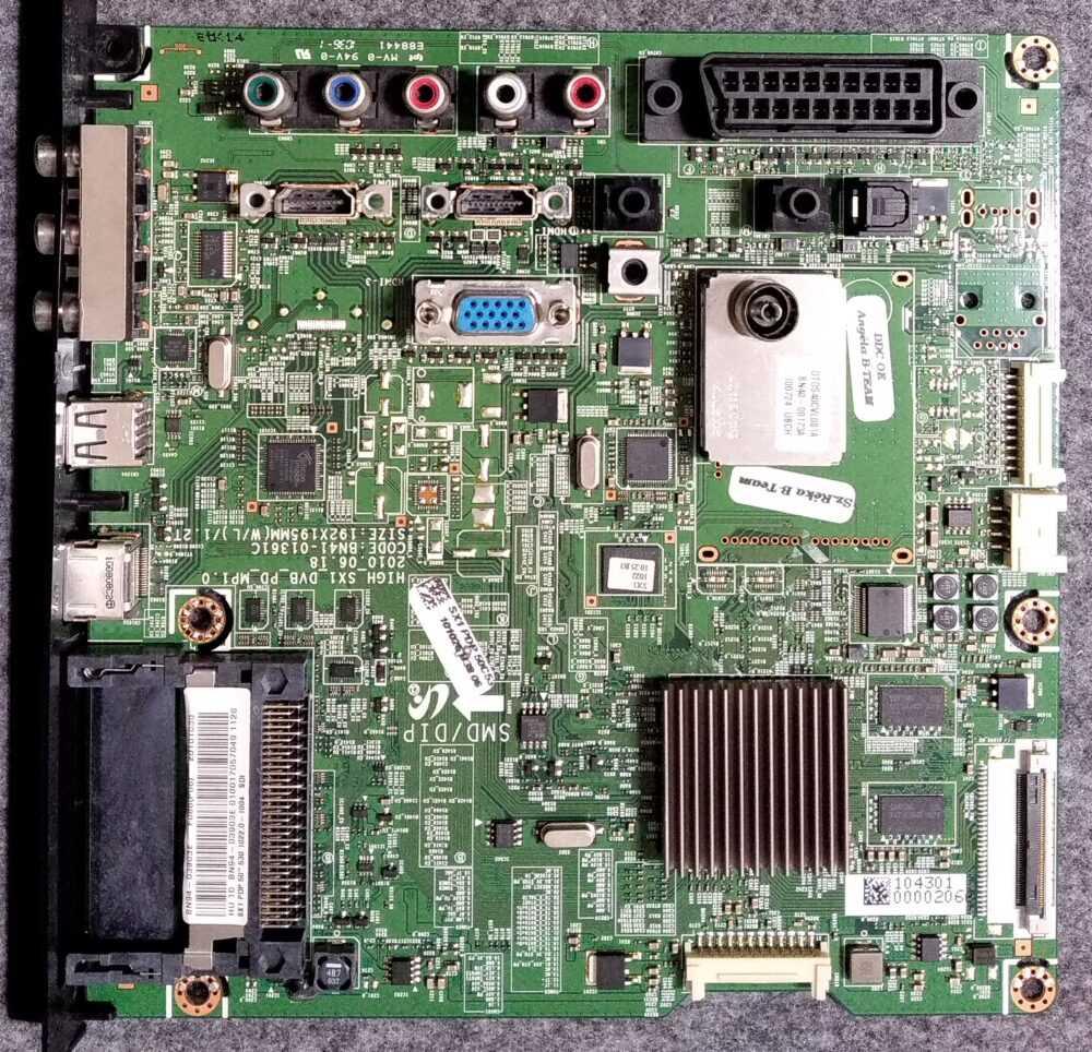 Bn94 03903e Bn41 01361c Main Samsung Ps50c530c1wxxc Pannello 850fh Yb06