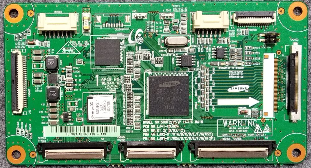 Lj41 C8382a T Con Samsung Ps50c530c1wxxc Pannello 850fh Yb06