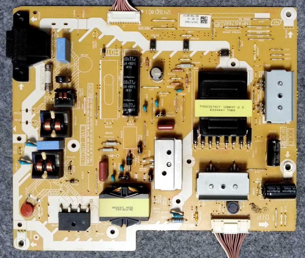 Txn P1ybue Power Panasonic Tx L50et60e
