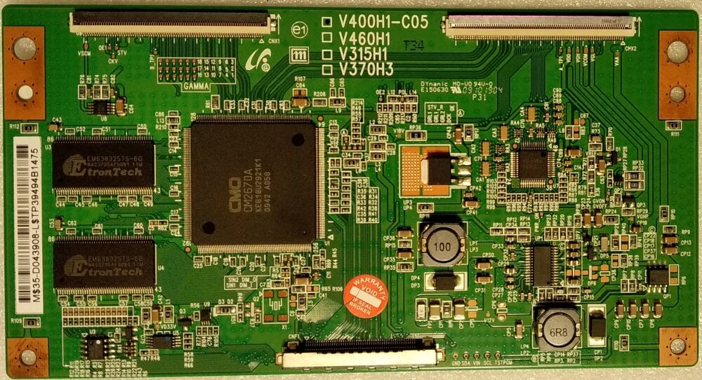 V400h1 C05 T Con Samsung Le40b530p7wxxh Pannello V400h1 L07 Rev.c1