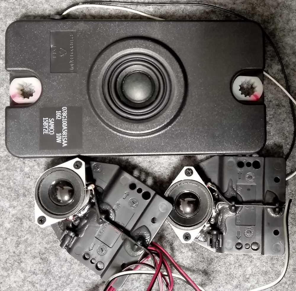 078G100A581SAA - Kit speaker Philips 32PFL3517H TV Modules