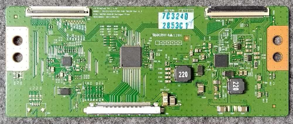 32-37-42-47-55 FHD TM120 Ver 0.2 - T-con Philips 32PFL3517H12 - Pannello LC320EUE TV Modules
