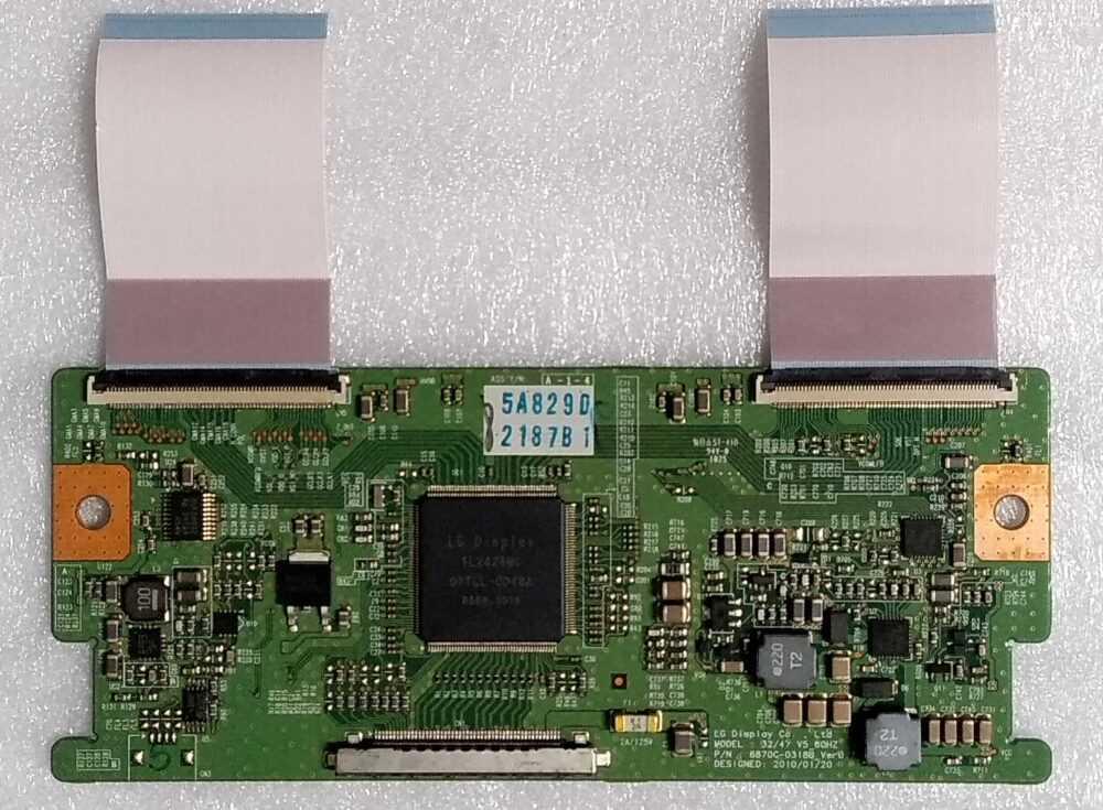 6870C0318BVer 0.7 - T-con Telefunken TE32843B16FM - Pannello LC320WUE TV Modules