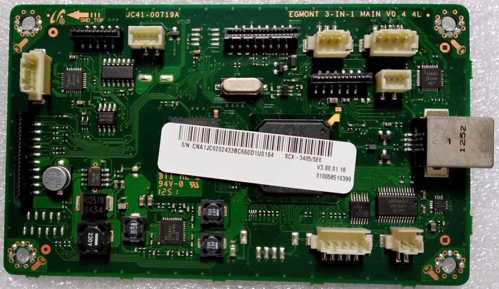 JC41-00719A - Main scheda logica Samsung SCX3405 TV Modules
