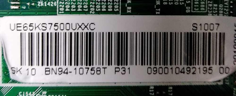 Etichetta main TV Modules