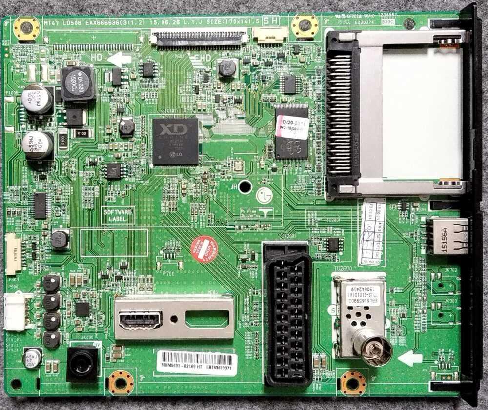 MT47 LD50B EAX6663603 (1.2 ) - Main LG - 22MT47DC-PZ.APIYLUP - Pannello HM215EUN-SLMP1-41XX TV Modules