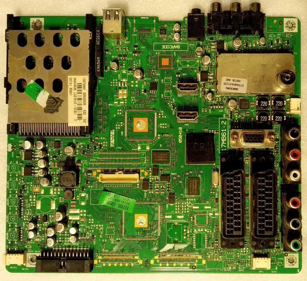 17MB62-2 - 20532929 - Main Telefunken TE32843B16FH - Pannello LC320WUE TV Modules