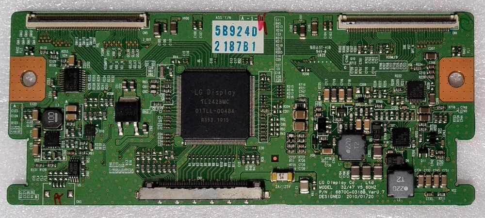 6870C-0318B Ver 0,7 - T-Con Telefunken TE32843B16FH - Pannello LC320WUE TV Modules