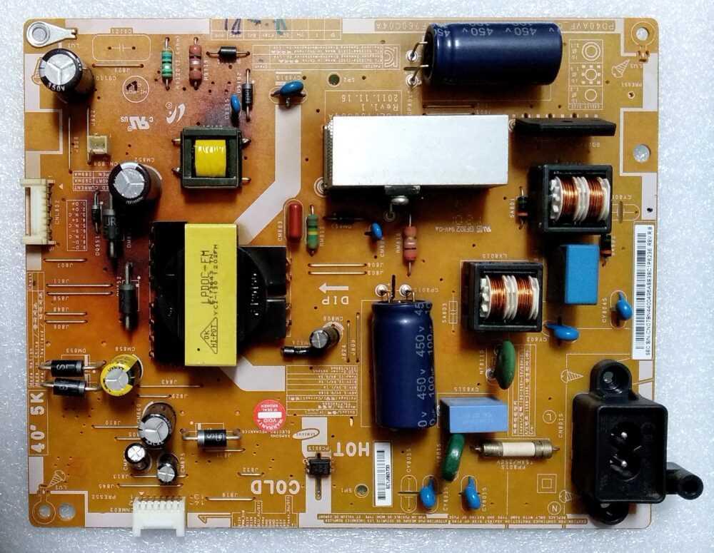 BN44-00496A - PSLF760C04A Rev 1.1 - Power Samsung UE40EH5000WXZT TV Modules