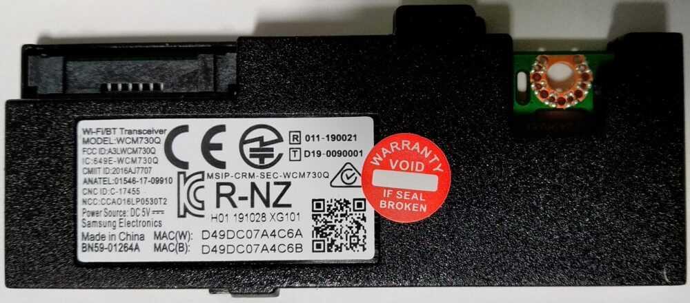 BN59-01264A - Modulo WI-FI Samsung UE49MU6500UX TV Modules