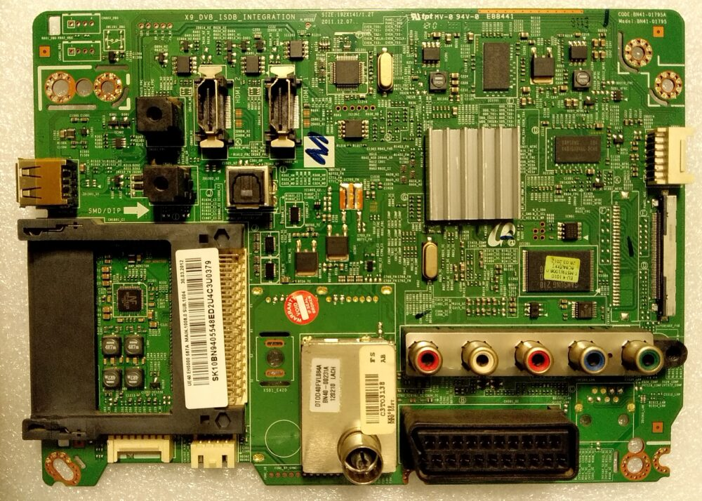 BN94-05842L - BN41-01795A - Main Samsung UE40EH5000WXZT - Pannello LSJ400HN05-S TV Modules