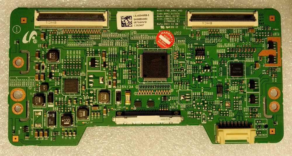 BN95-00570B - BN41-01797A - T-Con Samsung UE40EH5000WXZT - Pannello LSJ400HN05-S TV Modules