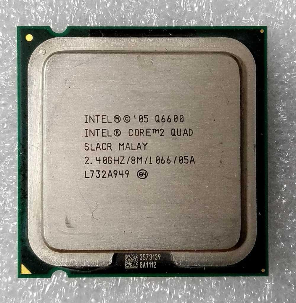 CPU Intel Core2 Quad core Q6600 2,40 GHz - 8 MB - 1066 MHz socket LGA775 TV Modules