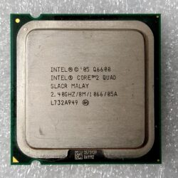 CPU Intel Core2 Quad core Q6600 2,40 GHz - 8 MB - 1066 MHz socket LGA775