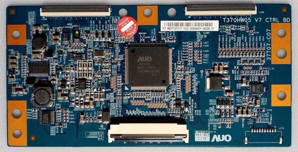 T370HW05 V7 - T-Con Samsung UE37D6000TPXZT TV Modules