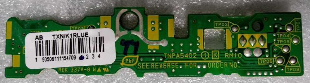 TNPA5402 - Ricevitore RC Panasonic TX-P42ST30E - B TV Modules