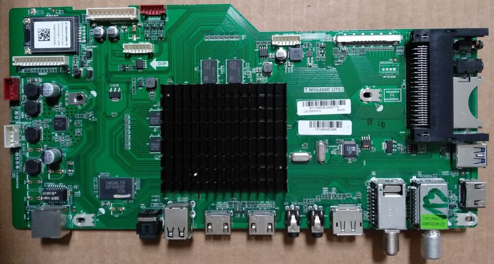 T.MS6488E.U703 - Main Sharp LC-55CUG8052E - Pannello LY.4YF02G001 HWV55165-01Y LSC550FN13 TV Modules