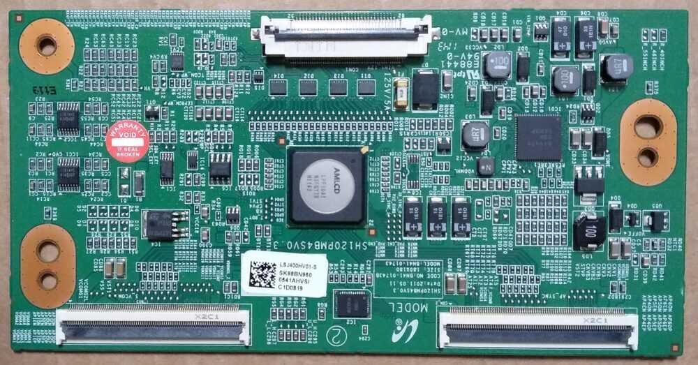 BN95-00541A - BN41-01743B - Modulo T-Con Samsung UE40D6510WQXZT - Pannello LTJ400HV02-J TV Modules