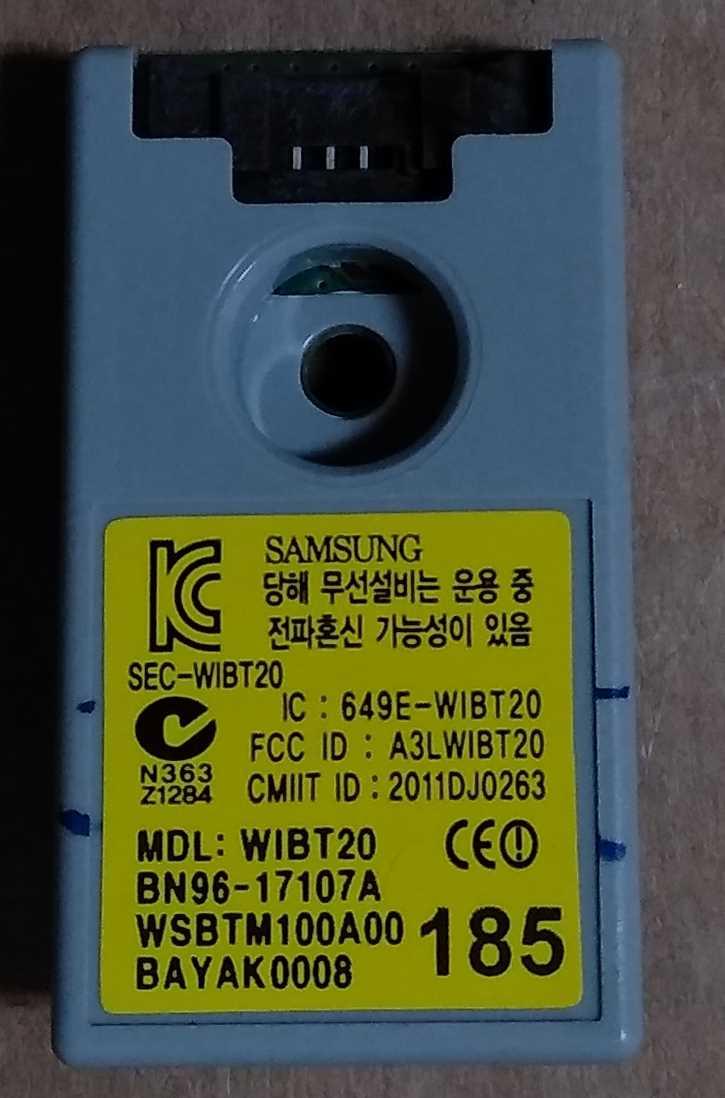 BN96-17107A - Modulo bluethoot Samsung UE40D6510WQXZT TV Modules