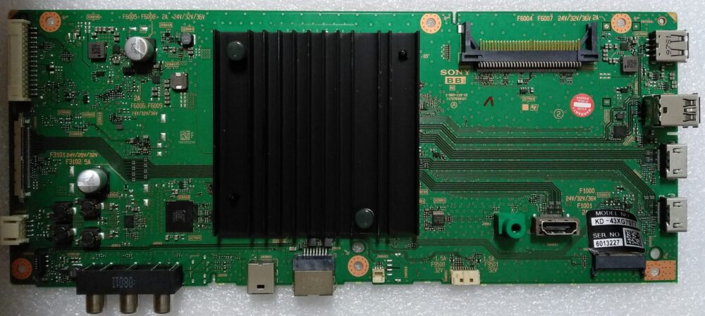 1-983-119-12 - Main Sony KD-43XG7077 - Pannello YS9S043HNG01 TV Modules