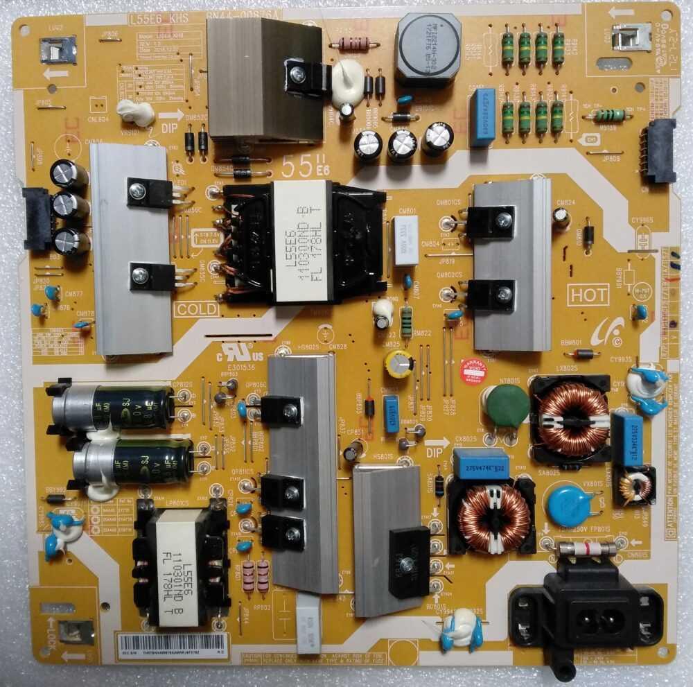 BN44-00876A - Power Samsung UE55MU6500UXZT TV Modules