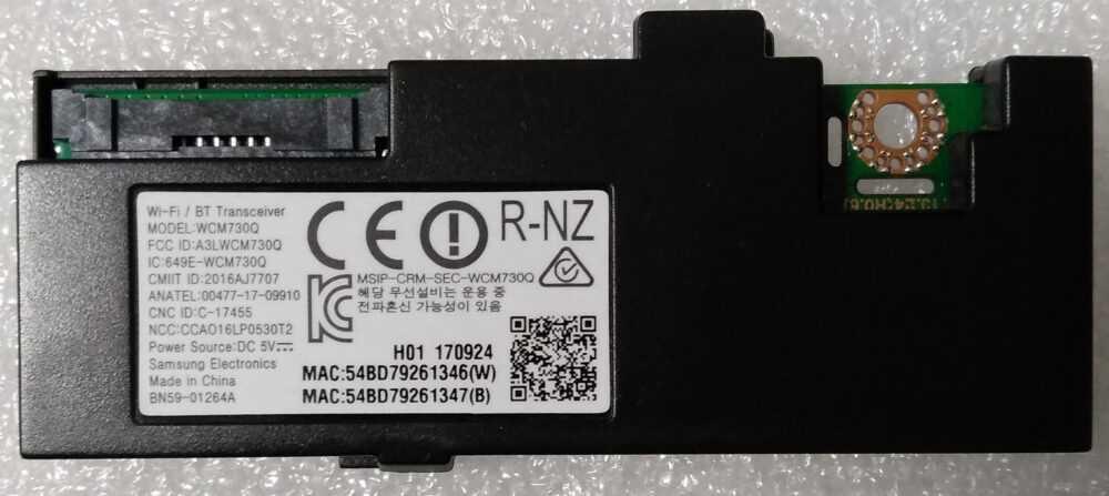 BN59-01264A - Modulo WI-FI Samsung UE55MU6500UXZT TV Modules