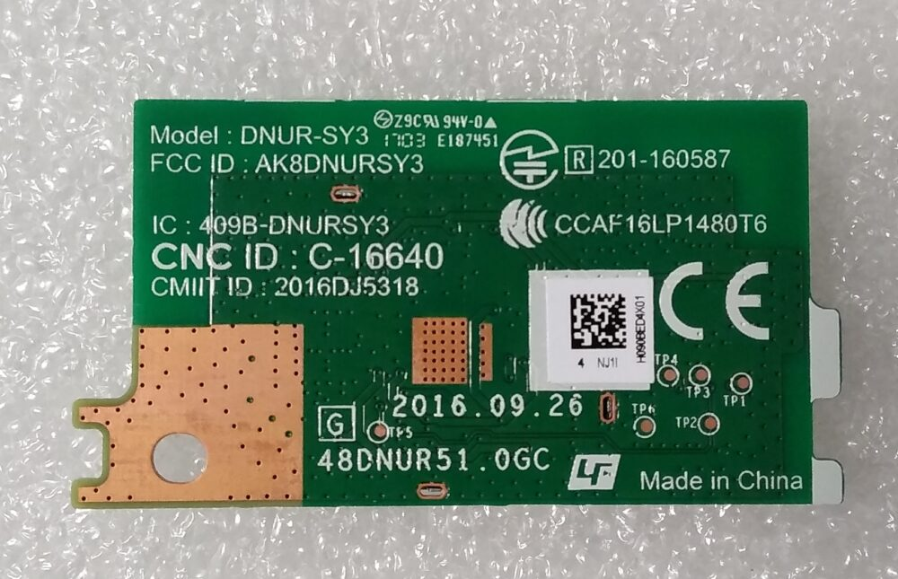 DNUR-SY3 - Modulo WI-FI Sony KDL-32WE615 TV Modules