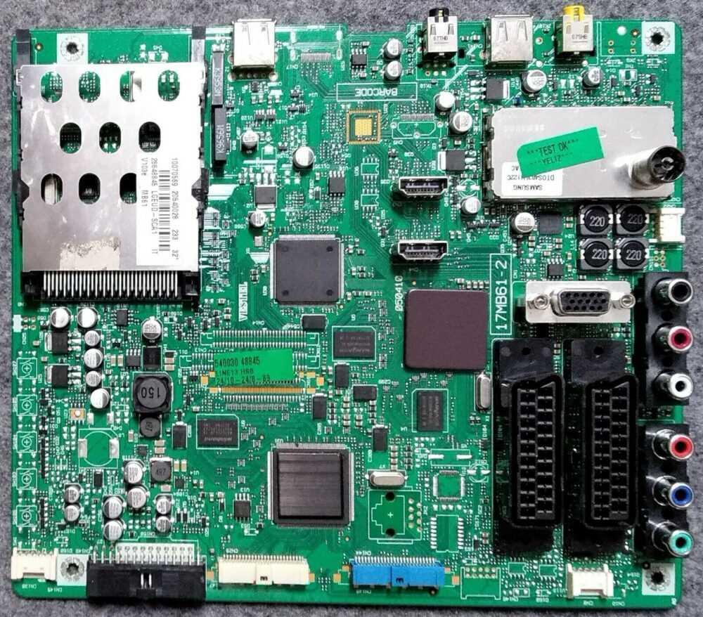 17MB61-2 - 20540028 - Main Vestel Telefunken TE32915B16F1H - Pannello 32 pollici (2) TV Modules