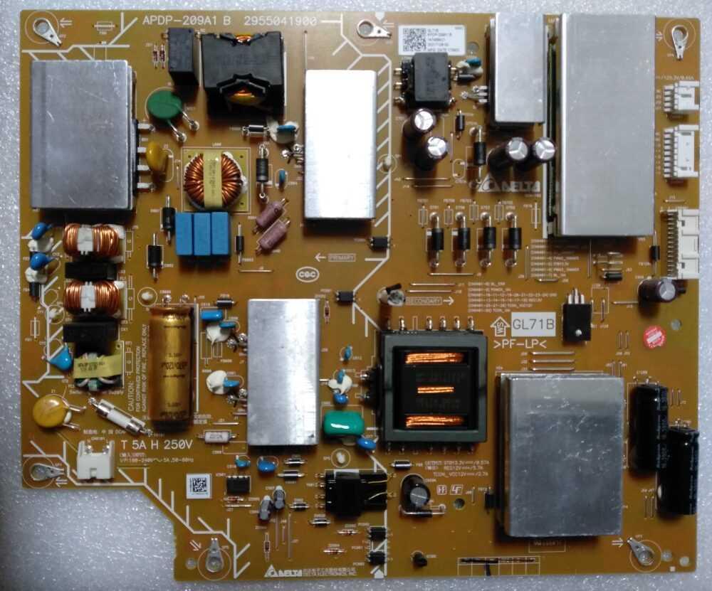 APDP-209A1 B 2955041900 GL71B - Power Sony KD-55XE8505 TV Modules