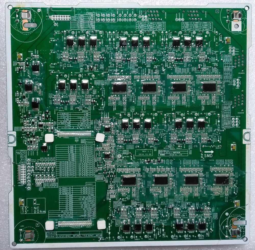 BN44-00902A - driver led Samsung QE65Q7CAMTXZT - Pannello CY-XM065FLLV2H (B) TV Modules