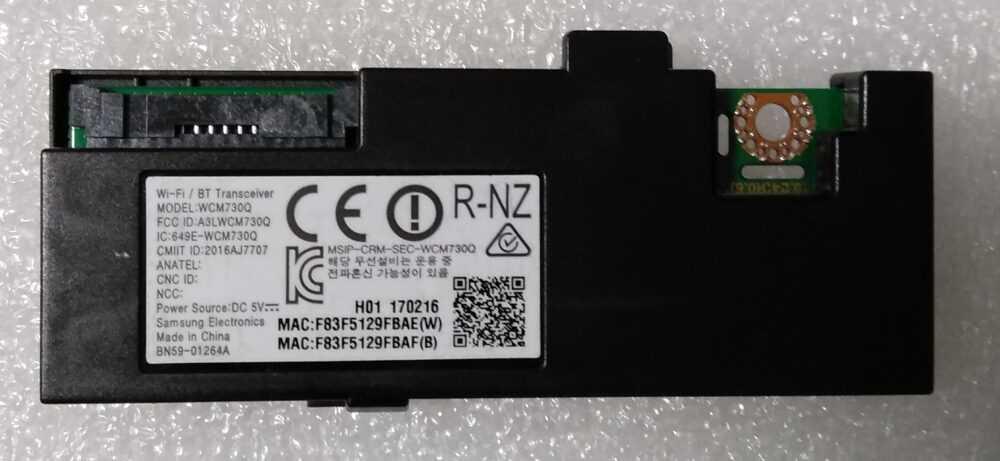 BN59-01264A - Modulo WI-FI Samsung QE65Q7CAMTXZT TV Modules