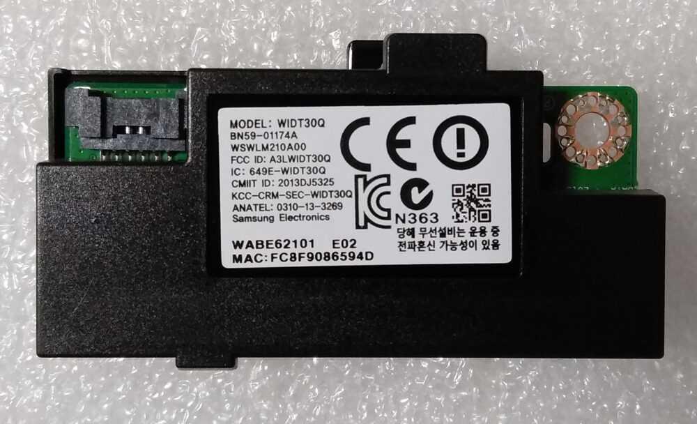 BN59-01174A - WIDT30Q - Modulo WI-FI Samsung UE60H6200AYXZT TV Modules
