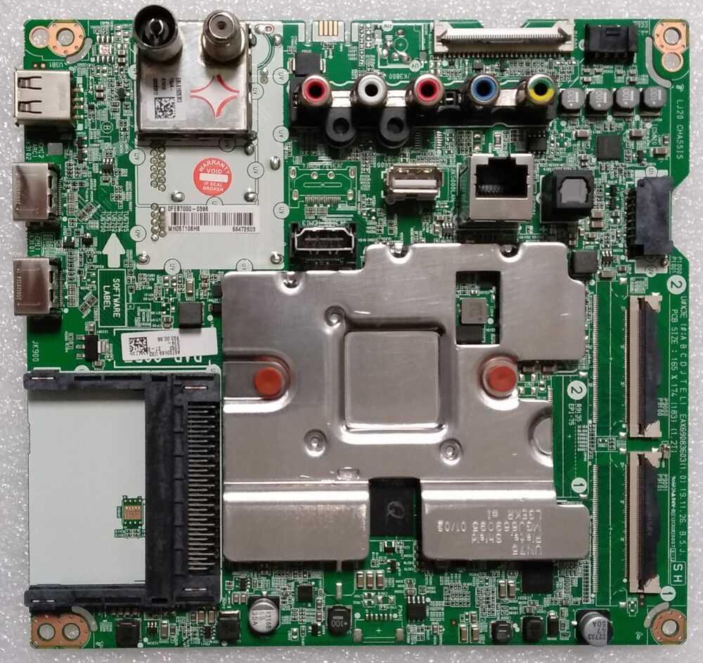 EAX69083603 (1.0) - Modulo main LG 49UN73006LA - Pannello HC490DGG-SLTLA-A19X TV Modules