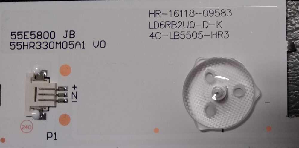 4C-LB5505-HR3 - Barre led Thomson 55UB6405 - TCL (B) TV Modules