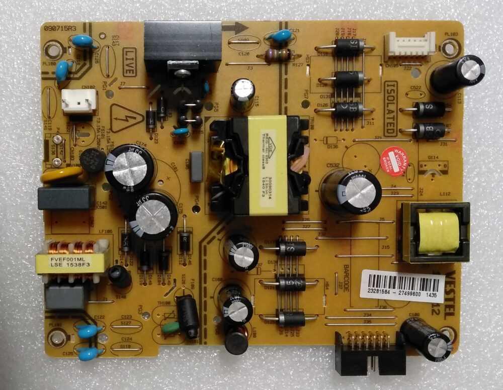 17IPS12R3 - 23281584 - Power Telefunken TE43282B34C2K TV Modules