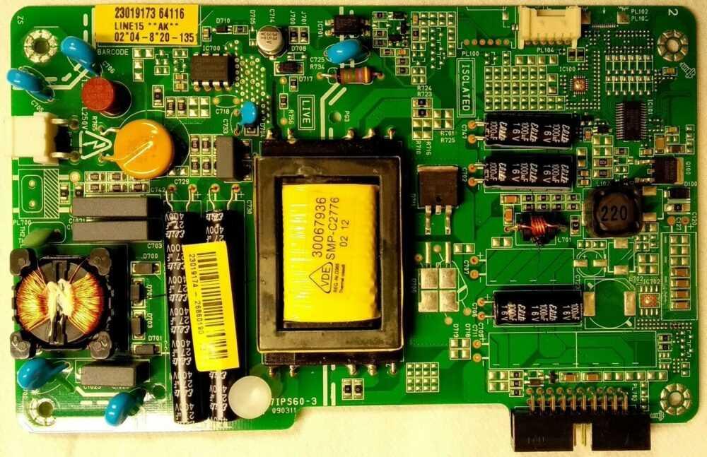 17IPS60-3 23019173 - Modulo power Telefunken TE19915B19L.S TV Modules