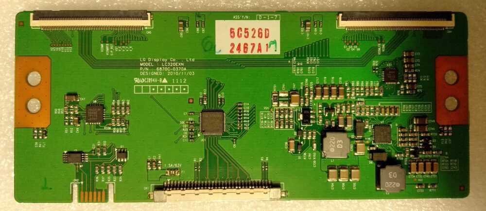6870C-0370A - Modulo T-con Telefunken - Hitachi - Tucson - Scaub-Lorenz - Techwood - Pannello 32 pollici LC320EXN TV Modules