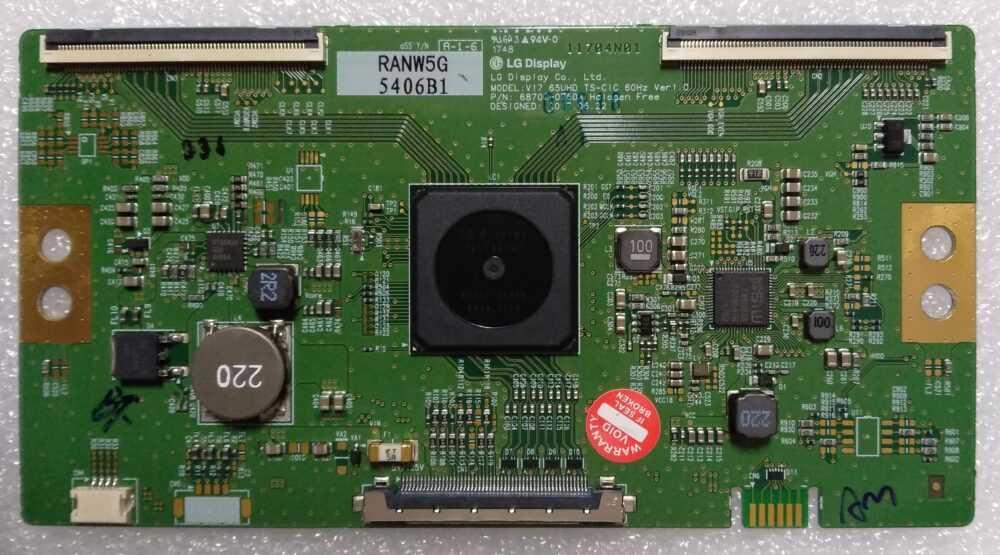 6870C-0750A - Modulo T-Con LG 65UK6500PLA.BEUWLJP - Pannello LC650EGE(FL) (M2) TV Modules