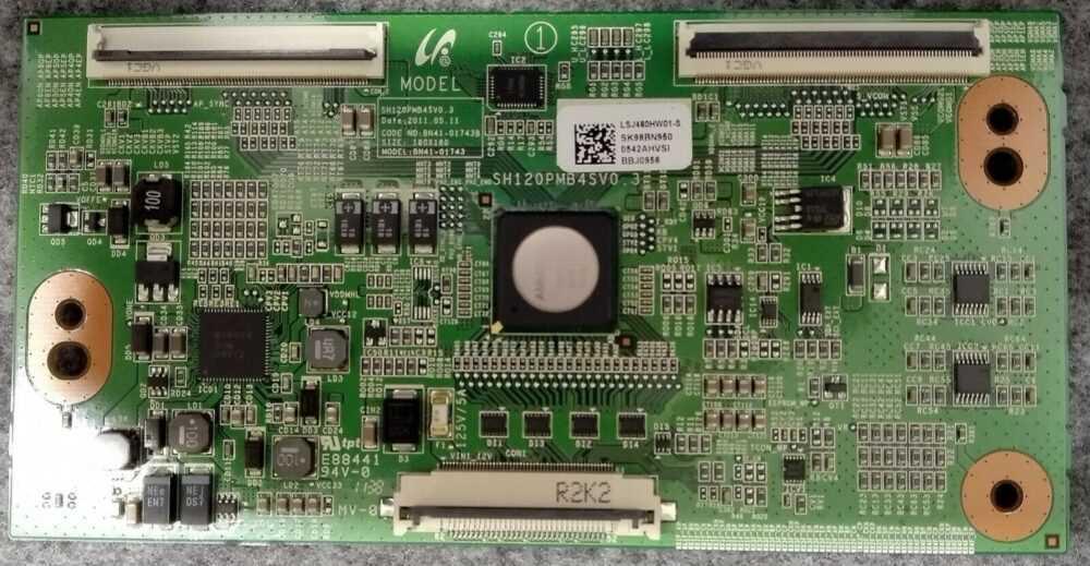 BN95-00542A - BN41-01743 - T-con Samsung UE46D6100SPXZT - Pannello LTJ460HW03-J TV Modules