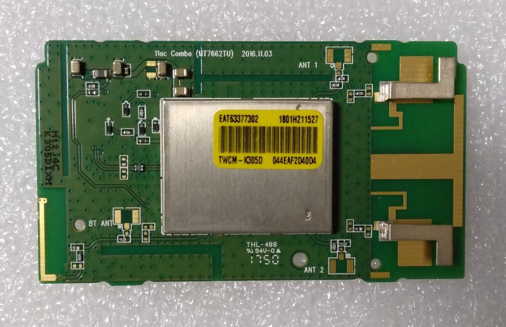 EAT63377302 - Modulo WI-FI LG 65UK6500PLA.BEUWLJP TV Modules