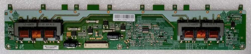 SSI320_4UH01 Rev 0.3 - Inverter Samsung LE32C630K1PXZT TV Modules