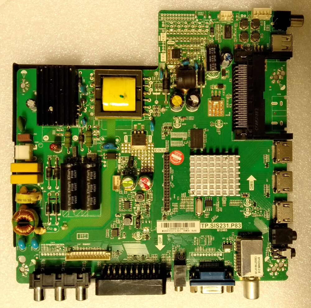 TP.SIS231.P83 - B12483 - Main United LED32X16 - Pannello 32 pollici M320X13-E1-L TV Modules