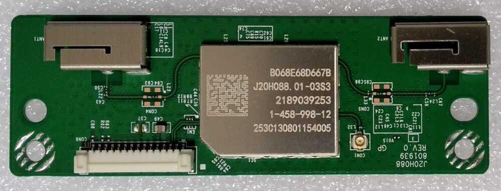 1-458-998-12 - Modulo WI-FI Sony 55XF9005 TV Modules