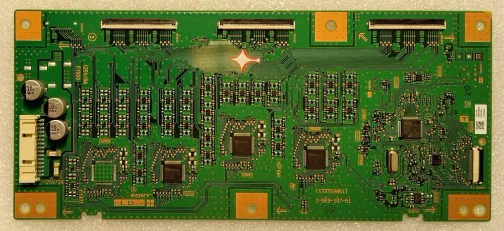 1-983-107-51 - Modulo inverter Sony 55XF9005 - Pannello YD8S007DND01B TV Modules