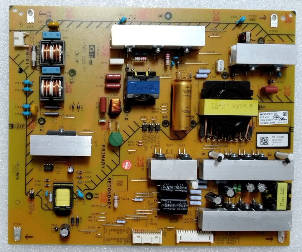 1-983-329-11 - APS-419 - Modulo power Sony 55XF9005 TV Modules